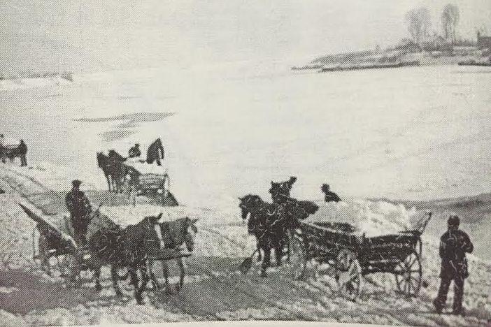 101 brodska priča - Pješke po zaleđenoj Savi (11)