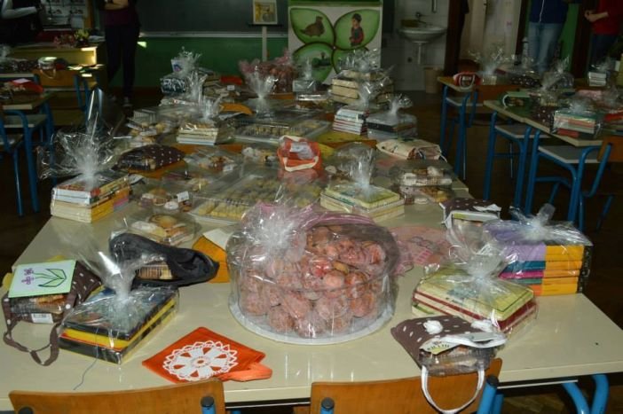 Volonterski klub 'Humani osnovci Pilari' za SOS Dječje selo Ladimirevci