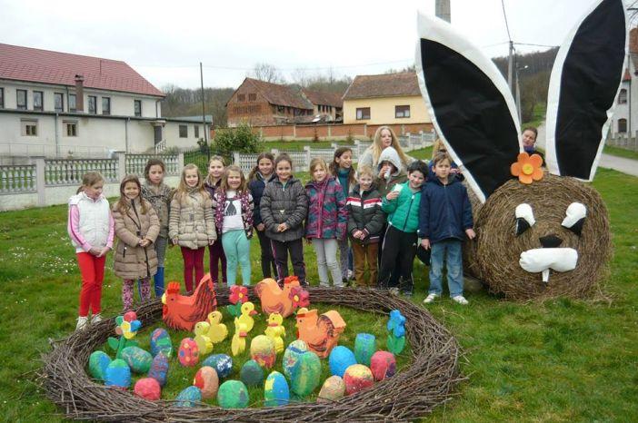 U organizaciji 'Društva naša djeca' napravljeno prelijepo gnijezdo u Rešetarima