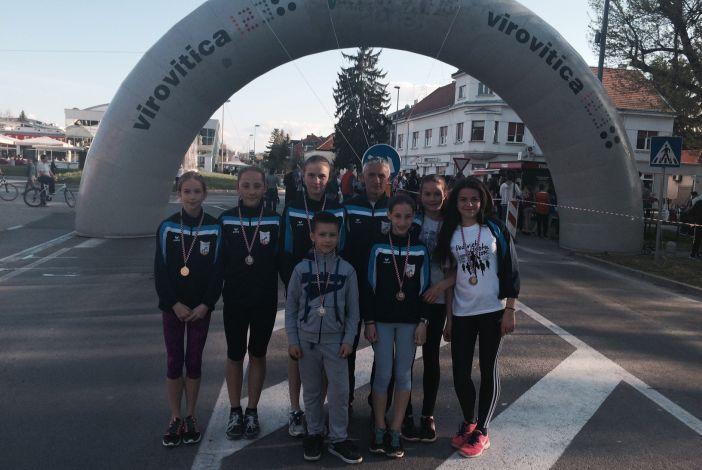 Atletičarke i atletičari Marsonije su iz Virovitice donijeli čak 7 medalja