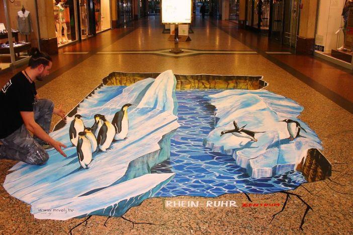 Filip Mrvelj na Street art festivalu u Mulheim an der Ruhr