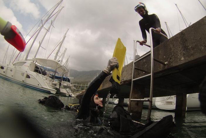 Brodski ronioci sudjelovali u eko akciji u Dubrovniku