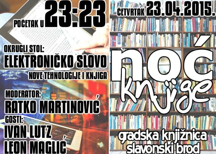 Noć knjige i festival SF-a u Brodu: Dva događaja, pregršt nagrada i pisci
