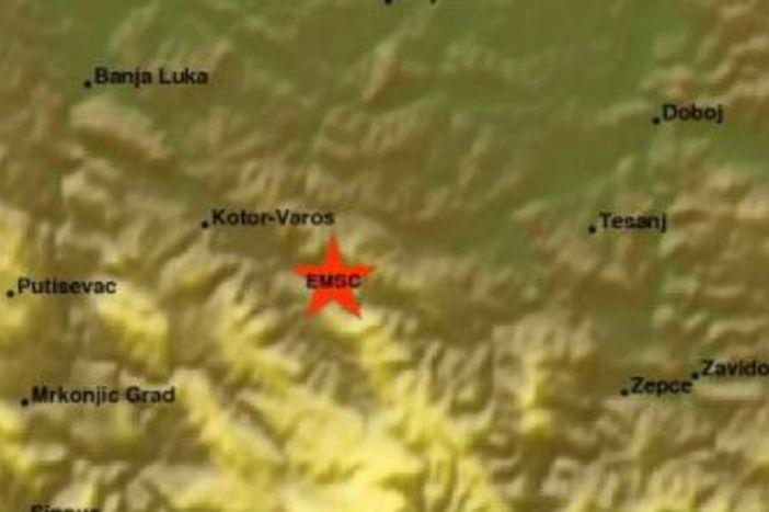 Jak potres s epicentrom 70-tak kilometara južno-jugozapadno od Slavonskog Broda