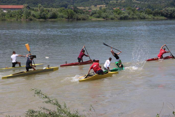 Kajak - kanu regata na Savi u Slavonskom Brodu