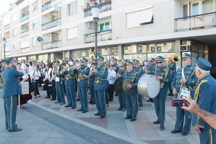Jučer je održana 36. Smotra Saveza puhačkih orkestara Slavonije i Baranje