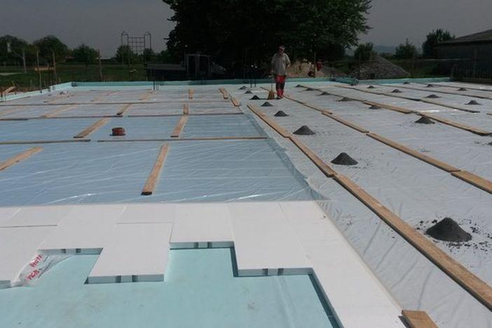 Započeli intenzivni radovi gradnje školsko-sportske dvorane u Adžamovcima