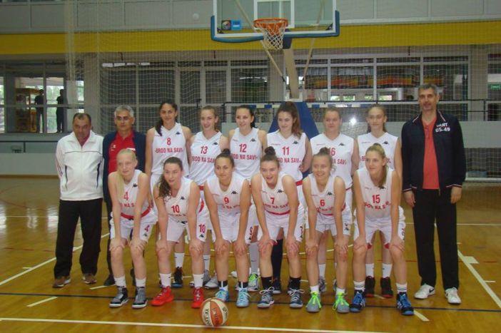 Kadetkinje Broda na Savi plasirale ze na završni turnir Prvenstva Hrvatske