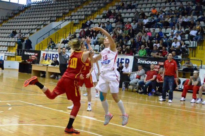 Hrvatske košarkašice slavile protiv Crne Gore