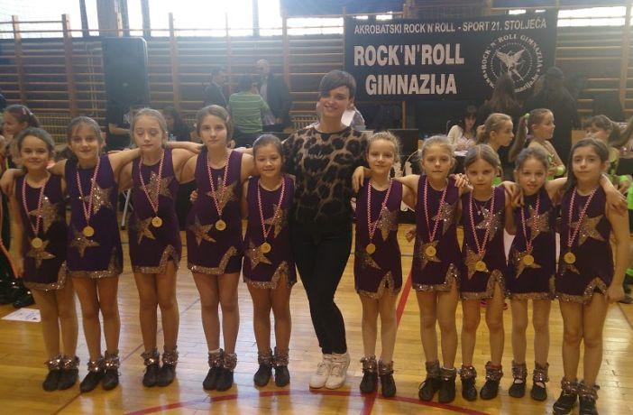Odlični rezultati Top dancea na natjecanju u Zagebu