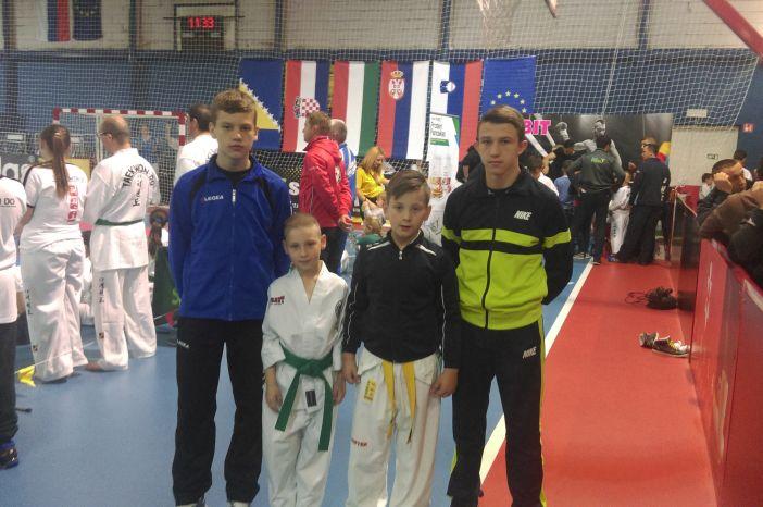 Borci Alfe Brod osvojili četiri medalje na 13. Ljubljana openu