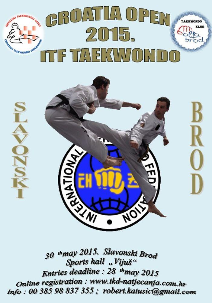 CROATIA OPEN 2015. ITF TAEKWONDO