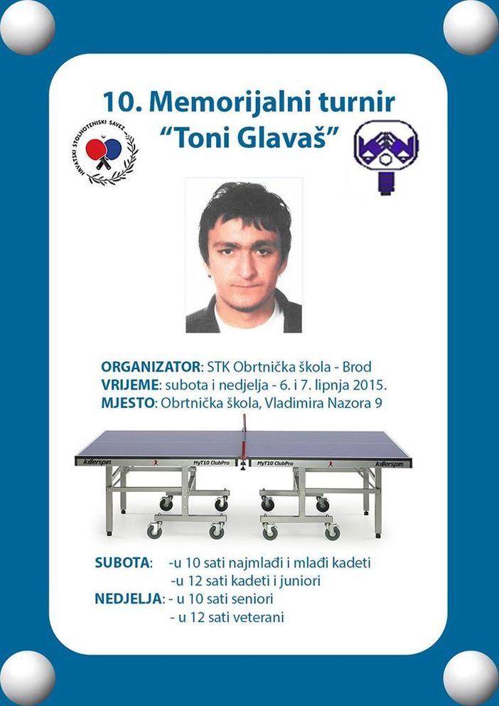 10. Memorijalni turnir 'Toni Glavaš'