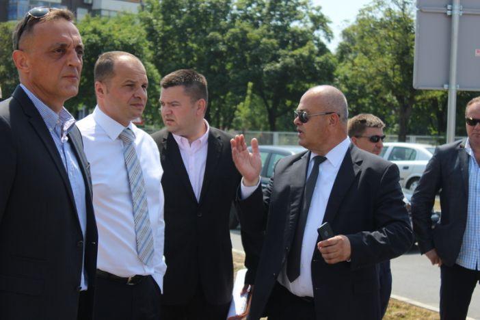 Ministri Hajdaš Dončić i Jakovina u radnom posjetu Slavonskom Brodu