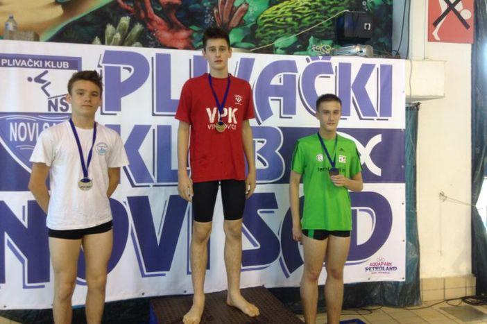 Brođanima dvije medalje na međunarodnom plivačkom mitingu u Novom Sadu