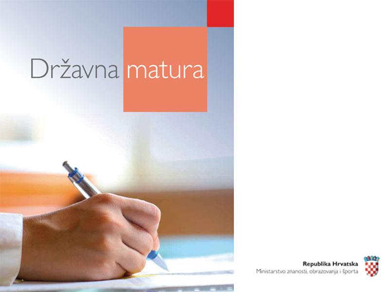 Odgođena državna matura iz hrvatskog jezika