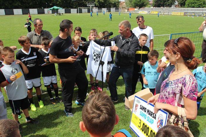 Završen 3. Međunarodni nogometni turnir 'Marsonia kup'