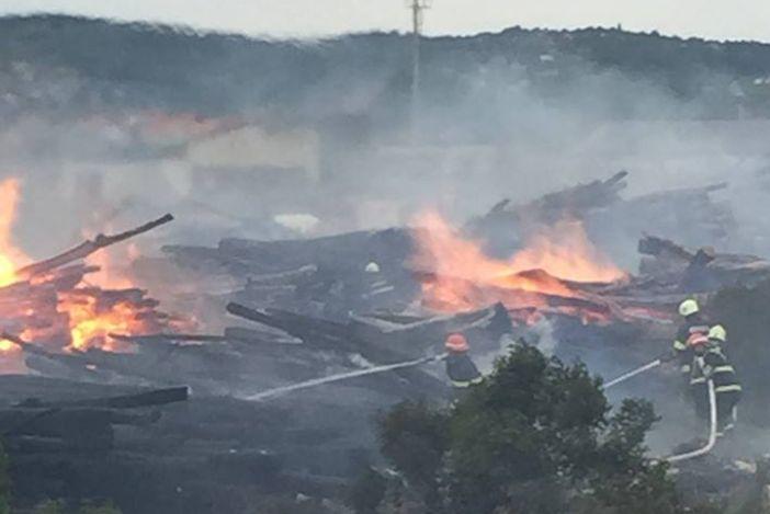 Požar u Slavoniji DI