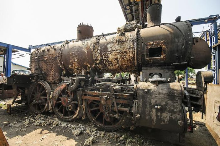 U Brodu se obnavlja lokomotiva za Winnetoua