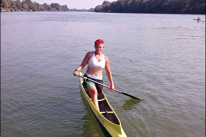 Vanesa Tot prva je kanuistica u povijesti RH koja putuje na Svjetsko prvenstvo