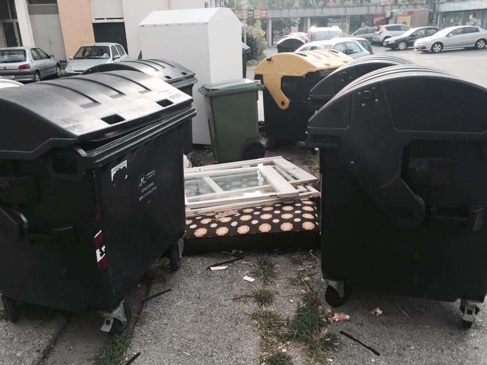 Građani bacaju glomazni otpad kako im padne na pamet