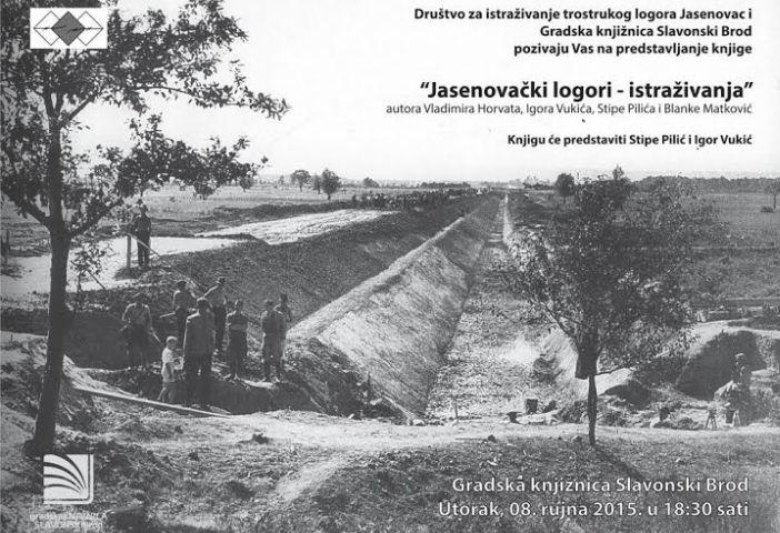 Promocija knjige Jasenovački logori - istraživanja