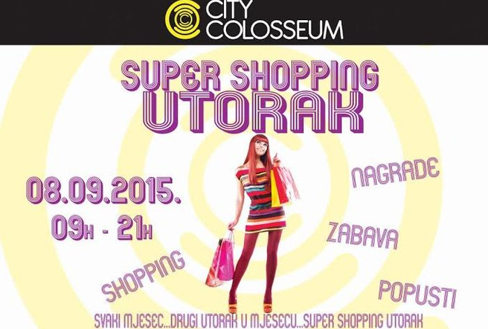 Popusti Super shopping utorka 08 09 u City Colosseumu