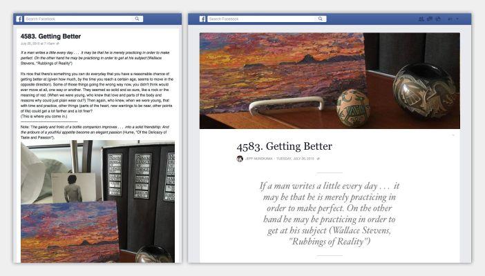Od sada bloger možete biti i na Facebooku
