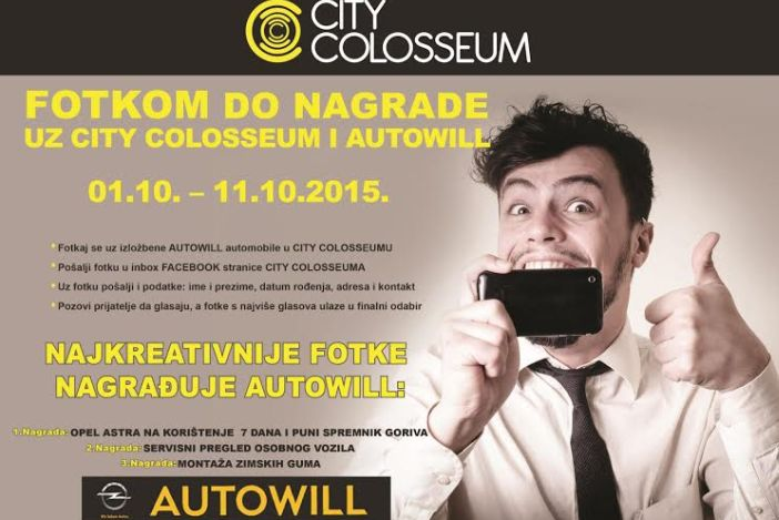 Fotkom do nagrade uz City Colosseum i Autowill