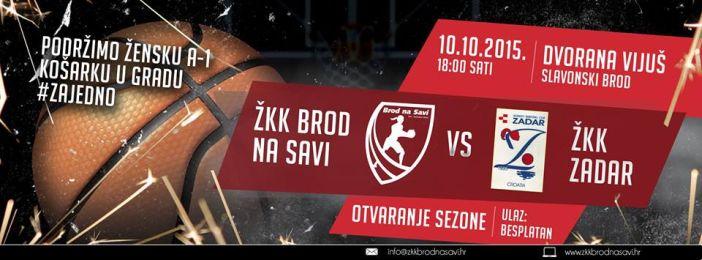 ŽKK Brod na Savi - ŽKK Zadar