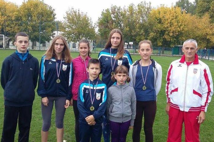 Odličan nastup mladih atletičara u Andrijaševcima