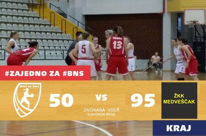 Prvakinje Hrvatske uvjerljivo protiv Brođanki