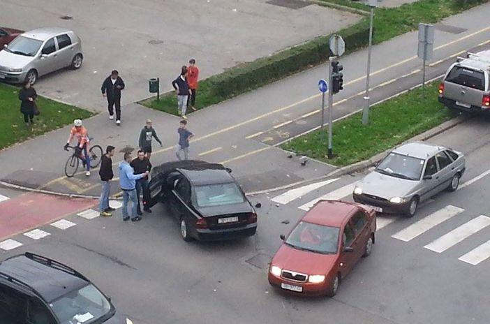 Prometna nezgoda u Vukovarskoj