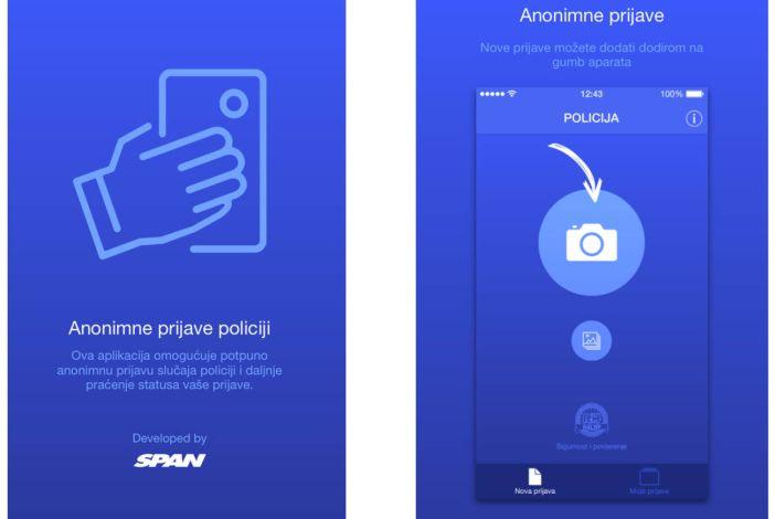 Policija kažnjava lažne prijave putem aplikacije