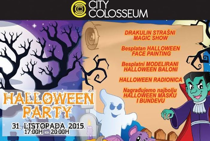 City Colosseum Halloween party
