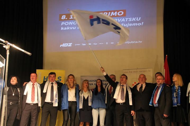 Domoljubna koalicija održala skup u Novoj Gradiški