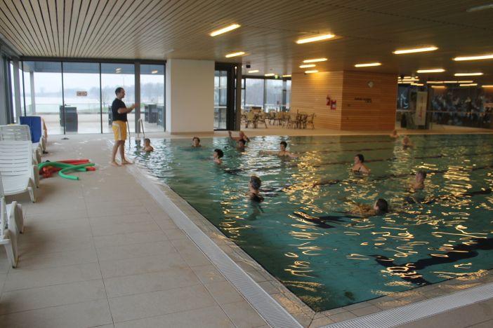 U program aqua fitnessa na Gradskim bazenima uključuje se sve više umirovljenika