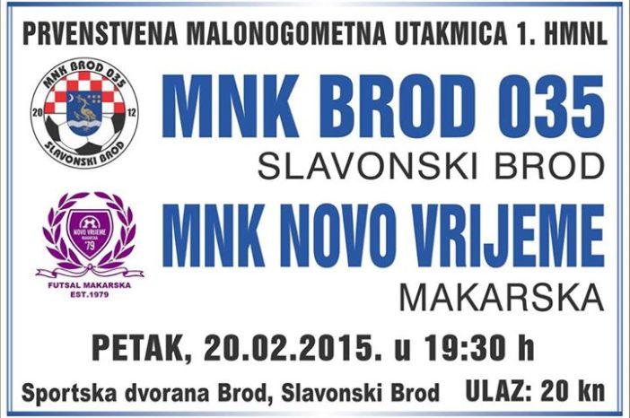 MNK Brod 035 - MNK Novo Vrijeme (Makarska)