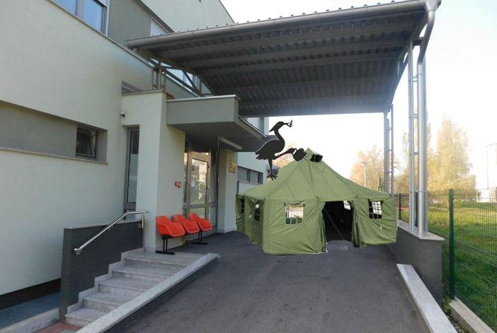 PIJANA ČAPLJA Novogradiška hitna dobiva čekaonicu – šator