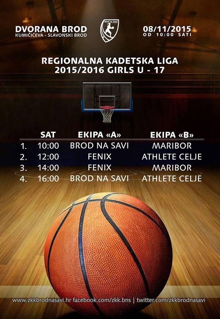KOŠARKA Regionalna Kadetska Liga - U17