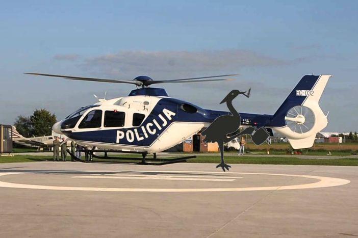 PIJANA ČAPLJA Otkrivamo pozadinu jučerašnjeg helikopterskog desanta na Slavonski Brod!