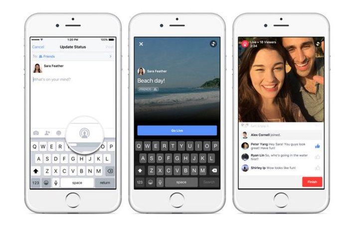 Facebook uvodi video prijenos