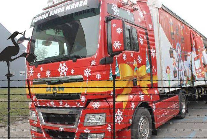 PIJANA ČAPLJA Brodsko redarstvo uhitilo Djeda Mraza, kamion zaplijenjen