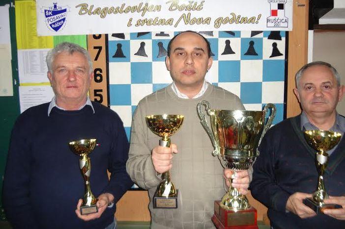 Zoran Ivanović osvojio 18. Božićni turnir u šahu