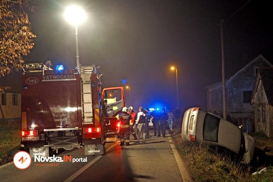 U teškoj prometnoj nesreći teško ozlijeđen Novogradiščanin