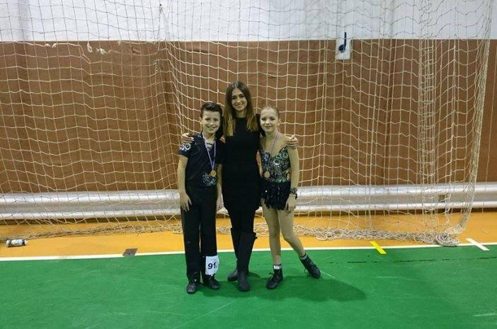 Srebro i bronca za Športski plesni  klub Astra!