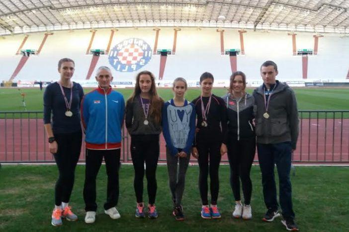 Odličan nastup atletičara Marsonije u Splitu