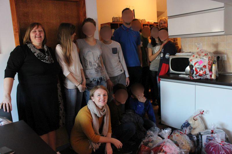 Božićni vilenjaci Soundset Broda za osmijeh djece bez roditeljske skrbi