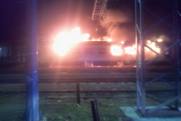 Otkriven uzrok požara na putničkom vagonu