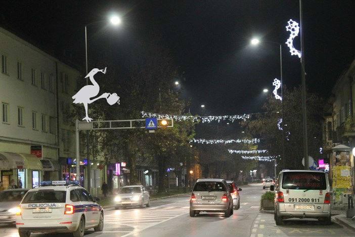 PIJANA ČAPLJA Danas se gasi blagdanska rasvjeta, Grad dobio prevelik račun za struju